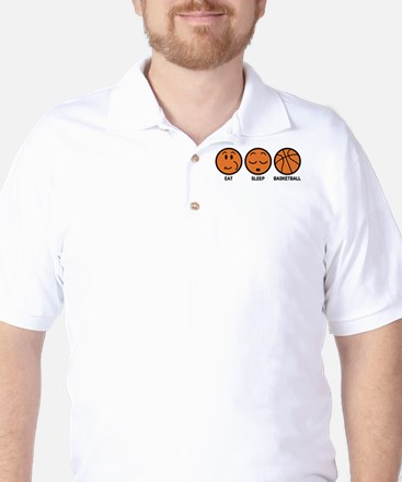 Eat Sleep Basketball Golf Shirt