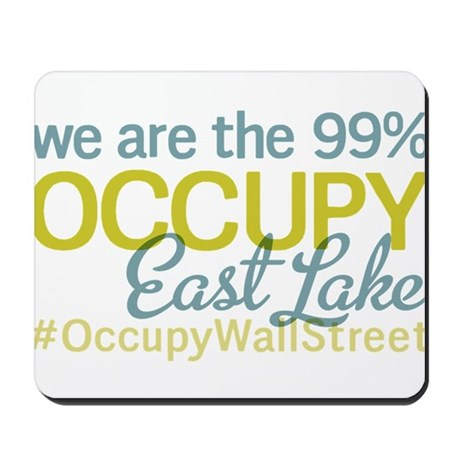 Occupy East lake 37407 Mousepad