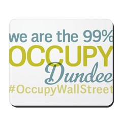 Occupy Dundee Mousepad