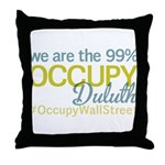 Occupy Duluth Throw Pillow