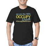 Occupy Duluth Men's Fitted T-Shirt (dark)