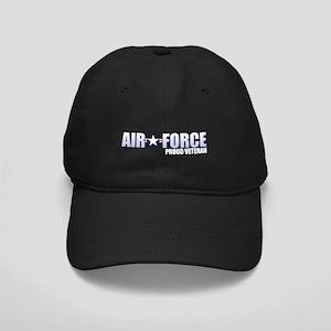 USAF Veteran Black Cap