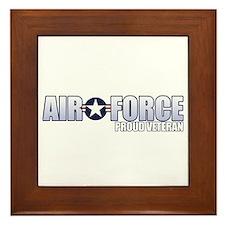 USAF Veteran Framed Tile