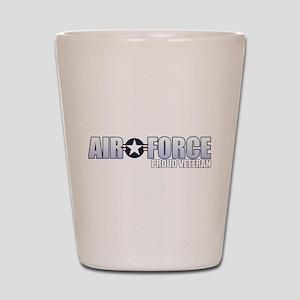USAF Veteran Shot Glass