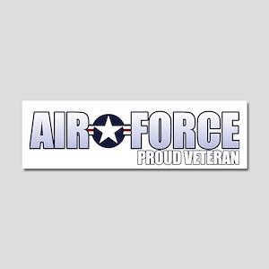 USAF Veteran Car Magnet 10 x 3