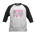 I wear pink for Ivy Kids Baseball Jersey