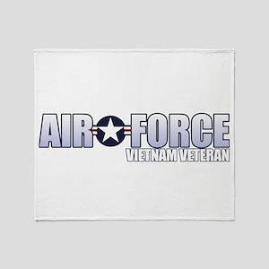 Vietnam Veteran Throw Blanket