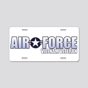 Vietnam Veteran Aluminum License Plate