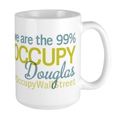 Occupy Douglas Large Mug