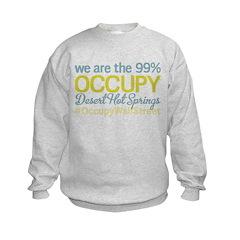 Occupy Desert Hot Springs Sweatshirt
