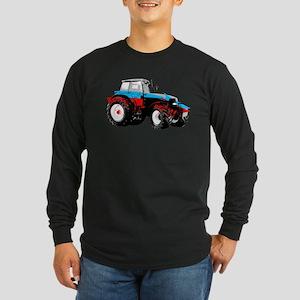 Tractor Style Long Sleeve Dark T-Shirt