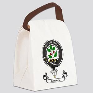 Badge-Christie Canvas Lunch Bag