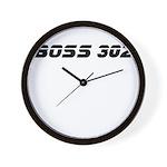 BOSS 302 Wall Clock