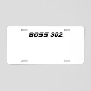 BOSS 302 Aluminum License Plate