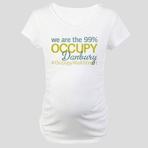 Occupy Danbury Maternity T-Shirt