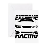 Racing Mustang 99 2004 Greeting Card