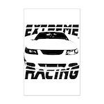 Racing Mustang 99 2004 Mini Poster Print
