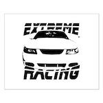 Racing Mustang 99 2004 Small Poster