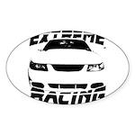 Racing Mustang 99 2004 Sticker (Oval 50 pk)