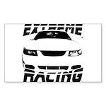 Racing Mustang 99 2004 Sticker (Rectangle)