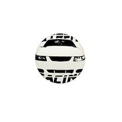 Racing Mustang 99 2004 Mini Button