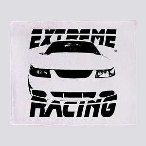 Racing Mustang 99 2004 Throw Blanket