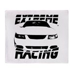 Racing Mustang 99 2004 Throw Blanket