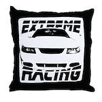 Racing Mustang 99 2004 Throw Pillow