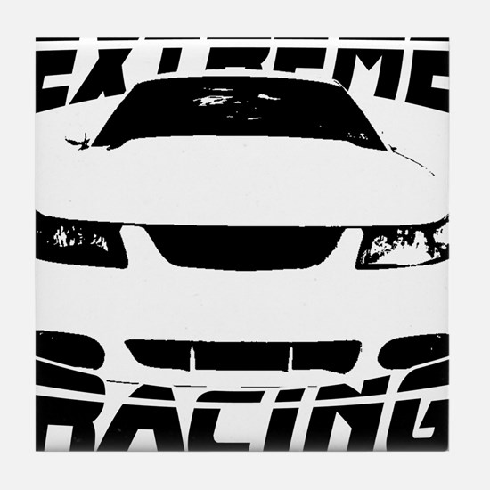 Racing Mustang 99 2004 Tile Coaster