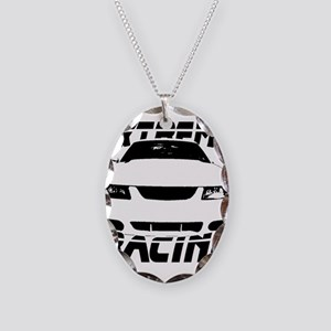 Racing Mustang 99 2004 Necklace Oval Charm