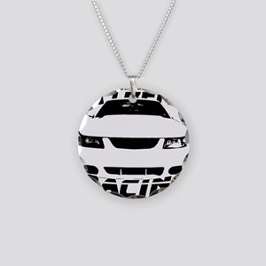 Racing Mustang 99 2004 Necklace Circle Charm