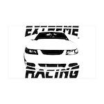 Racing Mustang 99 2004 38.5 x 24.5 Wall Peel