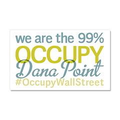 Occupy Dana Point Car Magnet 20 x 12