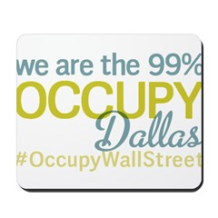 Occupy Dallas Mousepad