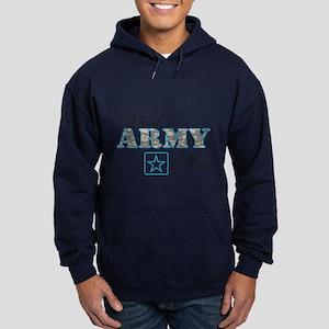 Proud Army Mom Hoodie (dark)
