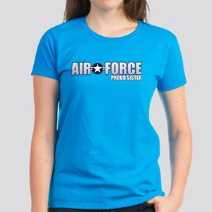 USAF Sister Women's Dark T-Shirt