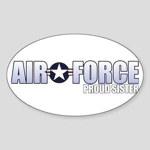 USAF Sister Sticker (Oval)