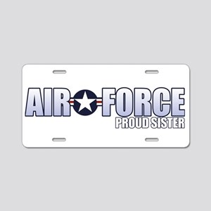 USAF Sister Aluminum License Plate