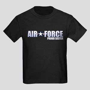 USAF Sister Kids Dark T-Shirt