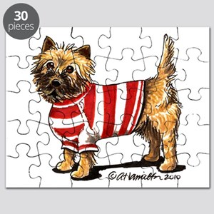 Cairn Terrier Sporty Puzzle