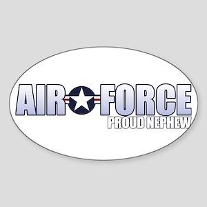 USAF Nephew Sticker (Oval)