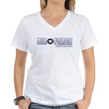 USAF Mother Women's V-Neck T-Shirt