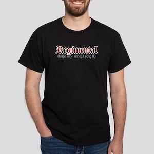Regimental Black T-Shirt