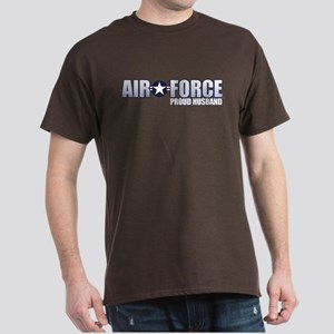 USAF Husband Dark T-Shirt