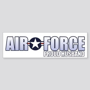 USAF Husband Sticker (Bumper)