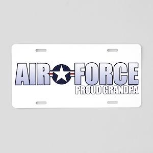 USAF Grandpa Aluminum License Plate