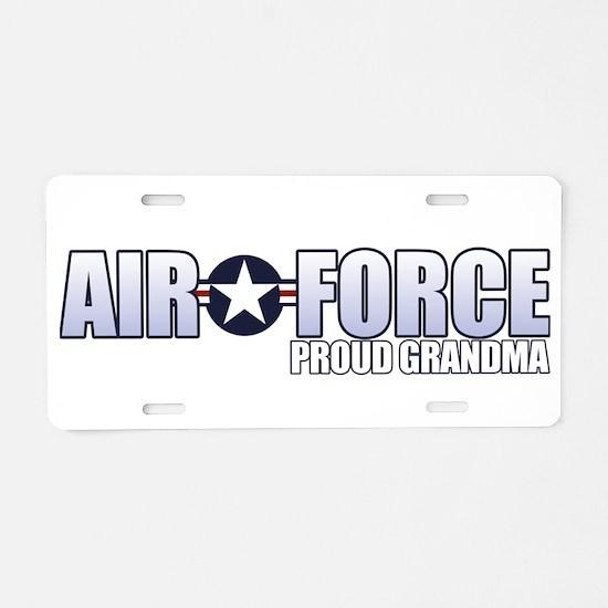 USAF Grandma Aluminum License Plate