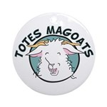 Totes MaGoats Ornament (Round)