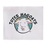 Totes MaGoats Throw Blanket