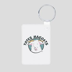 Totes MaGoats Aluminum Photo Keychain